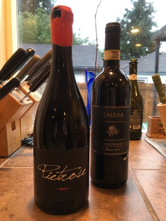 Montepulciano, Italy: Just two bottles this trip