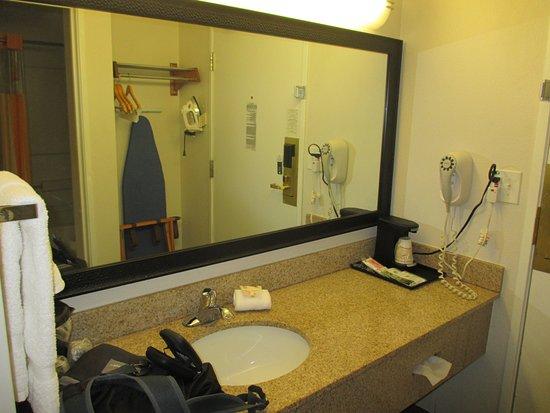 La Quinta Inn Birmingham / Cahaba Park South: Sink in main room