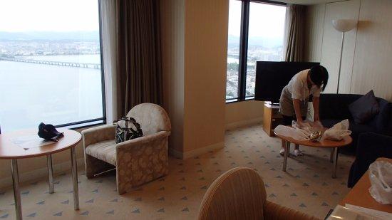 Lake Biwa Otsu Prince Hotel: リビング