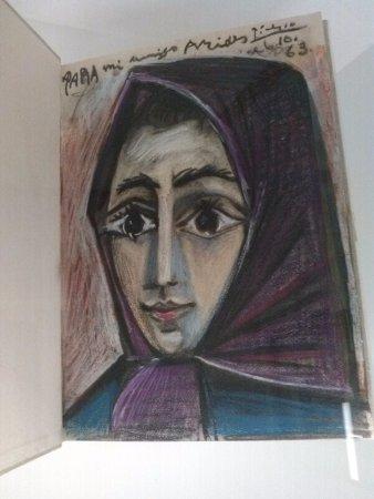Museo Picasso  Coleccion Eugenio Arias: La esposa de Picasso, Jacqueline-Retrato