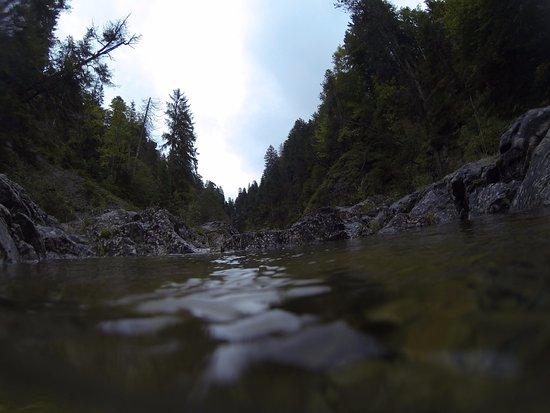 Reutte, Austria: Stille Wasser, tiefe Gründe.