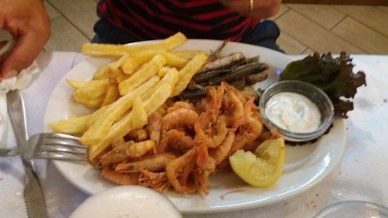 Mikros Gialos, Greece: frittura2