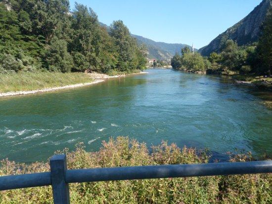 Levico Terme, Italy: fiume Brenta