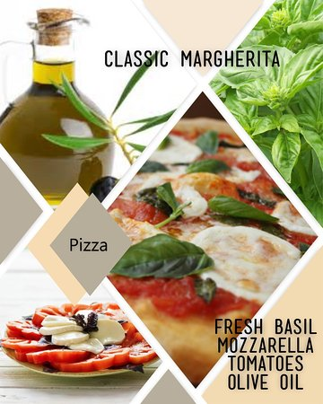 Herndon, VA: The classic margherita pizza is always a hit at Brama! Made with fresh tomatoes, fresh mozzarell