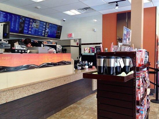 Dunkin Donuts, Bernardston, MA - Interior