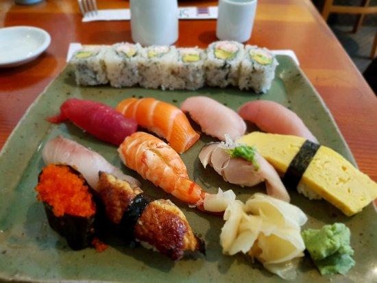Amazing sushi restaurant