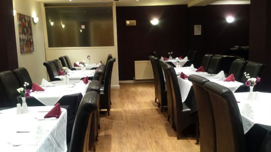 Eccles, UK: New look restaurant