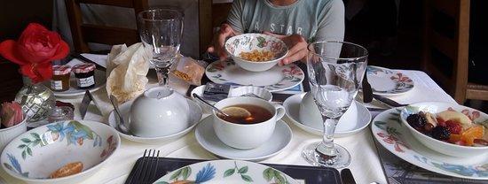 Villa Claudia: la colazione