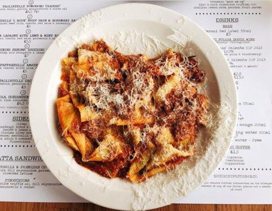 Zucchini Pasta Bar: Beef Ragu