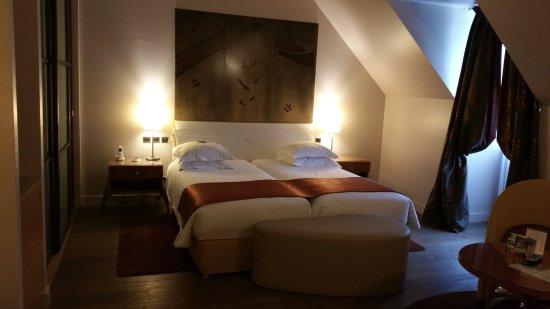 Régent Petite France & Spa : Chambre supérieure