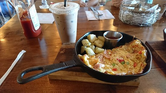 Edgewater, Nueva Jersey: ham omelette