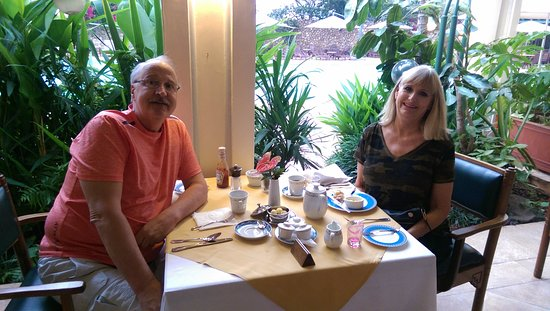 Nairobi Serena Hotel: excellent buffet breakfast