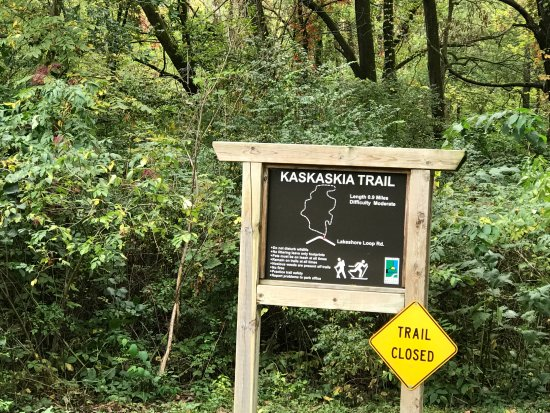 Kewanee, IL: Kaskaskia trail (Closed due to hunting season when I was there)