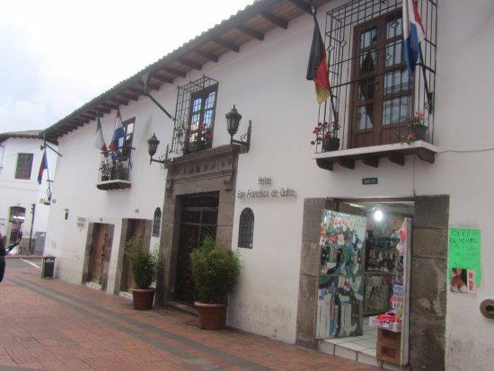 Hotel San Francisco de Quito: Отель Сан-Франциско в Кито