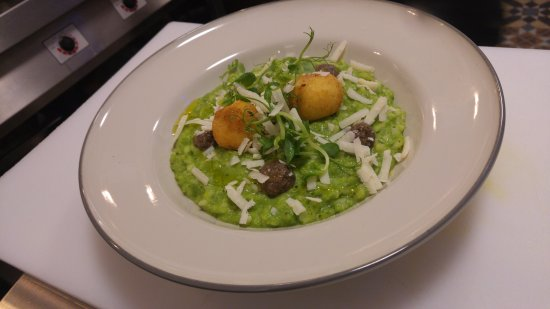 Chesham, UK: risotto