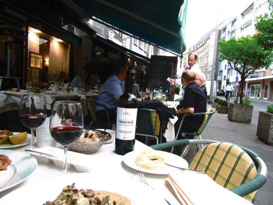 Hotel Drei Koenige : restaurant a coté