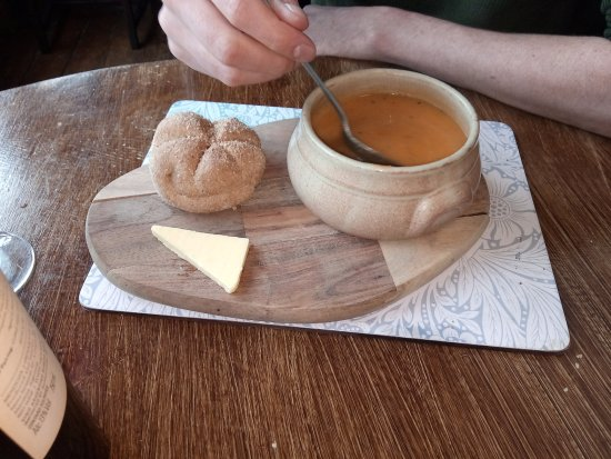 Capel Curig, UK: Sweet potato soup