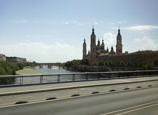 El Ebro: Prima fotografia scattata a Saragozza