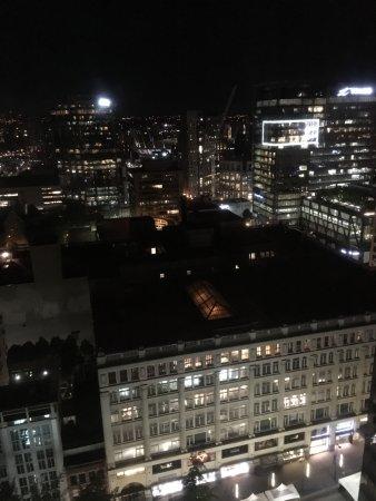 Four Seasons Hotel Vancouver: Blick aus dem 26. Stock