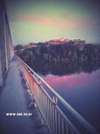Puente Internacional Tui - Valença do Minho ..... al fondo la fortaleza de Valença.