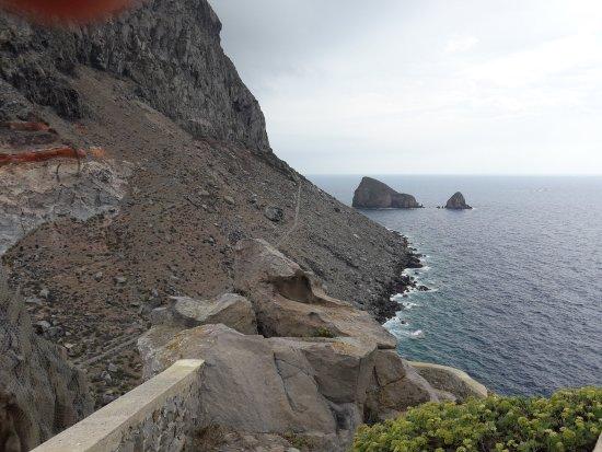 Ponza Island, Italy: Faro della Guardia