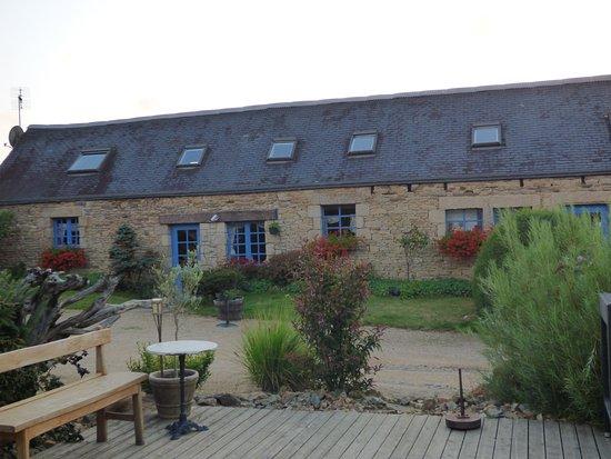 Plouegat-Moysan, França: Le cadre