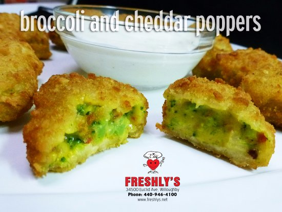 Willoughby, OH: Broccoli and Cheddar together !! WOW !!