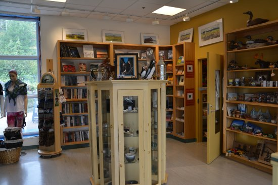 Woody Point, Canada: 2017-09-10 The Discovery Center, Gift Shop