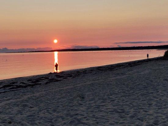 Chatham, MA: Harding Beach sunset.