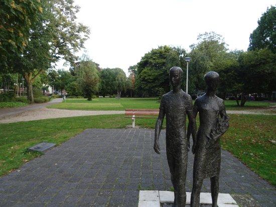 Het Juliana-park Nijmegen uit 1926