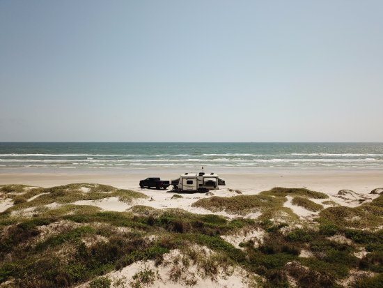 Padre Island National Seashore: Mile 6 Campsite