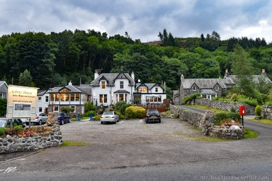 St Fillans, UK: Front of the hotel