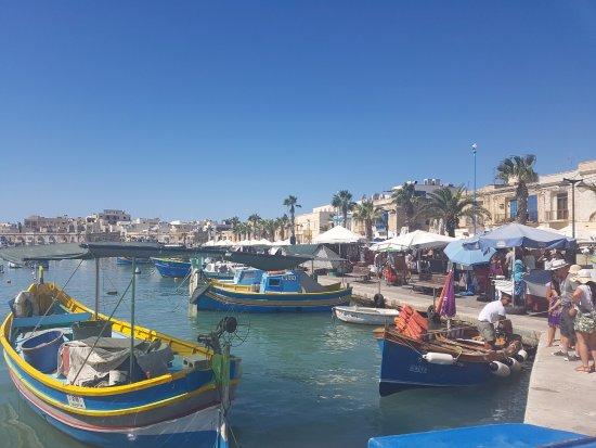 Havnen i Marsaxlokk
