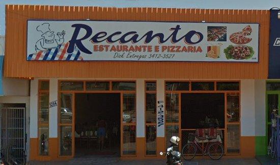 Alvorada d'Oeste, RO: Recanto Restaurante e Pizzaria
