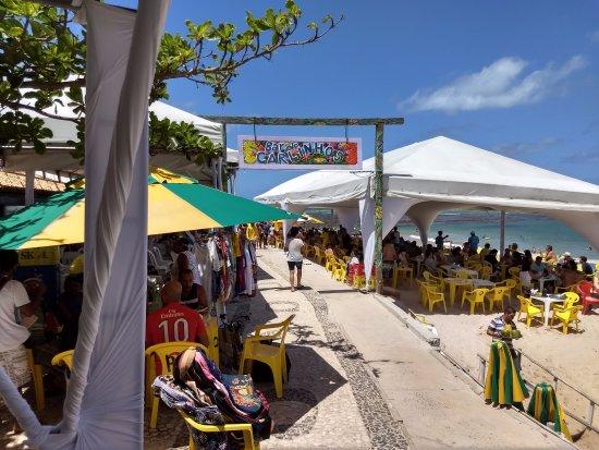Guarajuba Beach: Praia de Guarajuba - Bar Carlinhos