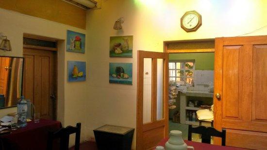 Casa de Mama Cusco 2-The Ecohouse: Sala de desayuno y cena