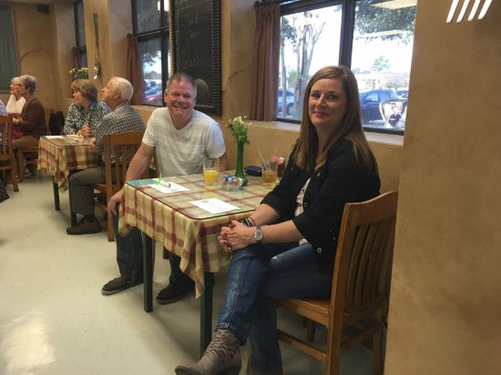 Friendswood, TX: Keith & Shari Neubauer - volunteers and patrons of the Village Cafe
