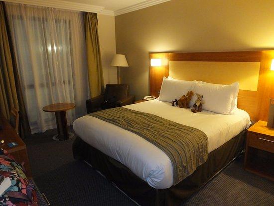 Sofitel London Gatwick: Room, plus Wylie and freinds