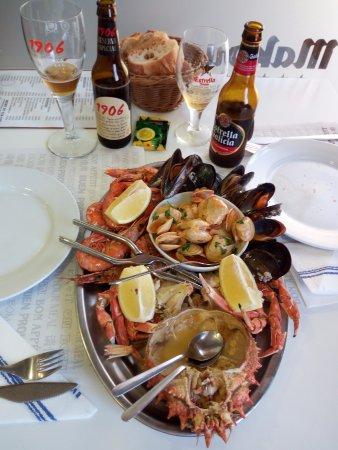 Restaurante Baiña : La parrillada de engaño