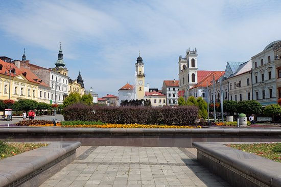 Banska Bystrica, Slovakia: Old Town Center 1