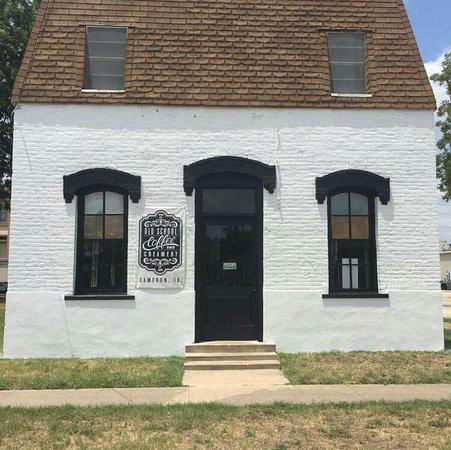 Cameron, Teksas: Old School Coffee and Creamery