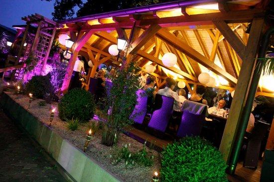 Schwabach, Tyskland: Sommerabend