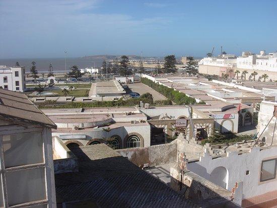 Dar Assalama: Vue depuis la 2ème terrasse