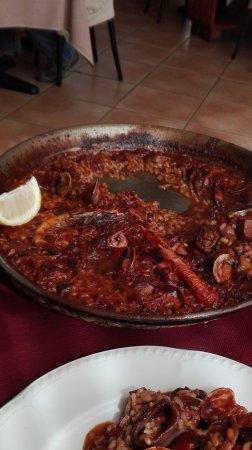 Arenys de Munt, Spain: Arroz de pescado y marisco