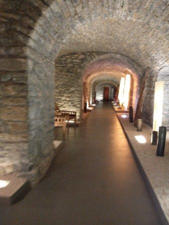 Boltaña, España: pasillos
