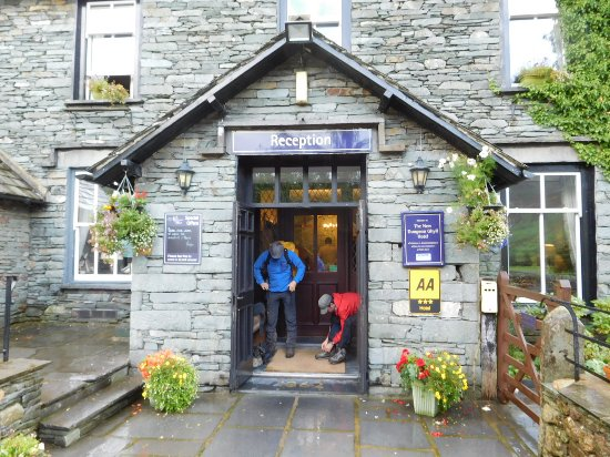 New Dungeon Ghyll Hotel : Main entrance