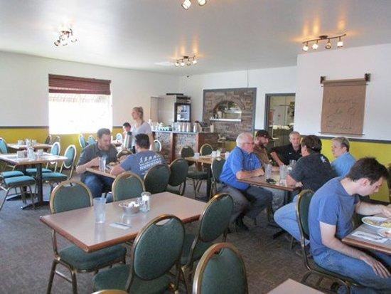 Cheney, WA: Bene's dining room
