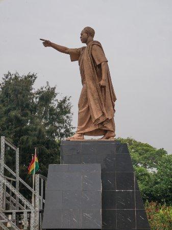 Kwame Nkrumah Memorial Park: Statue of Kwame Nykrumah