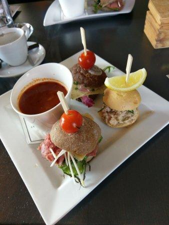 Den Burg, The Netherlands: Top lunch, verassend lekker net ff wat anders!