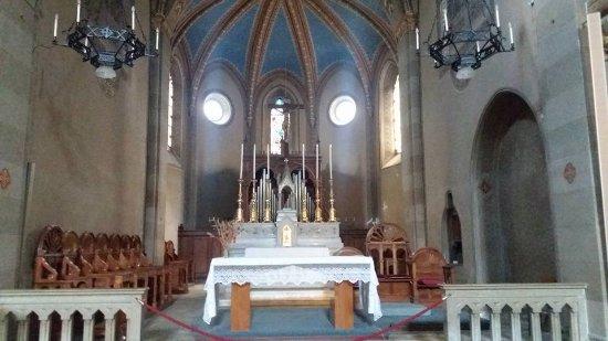 Susa, อิตาลี: Interno chiesa